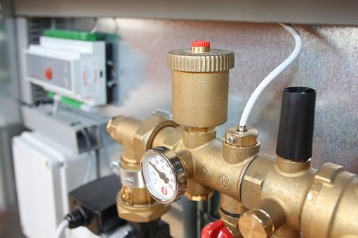 Valve, Brass, Heating, Pump, Plumber
