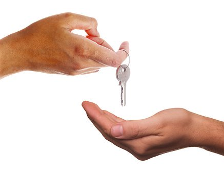 Give, Key, Receive, Hand, Keys