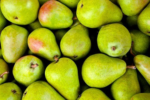 Fruit, Pear, Pear Basket, Sweet, Bio