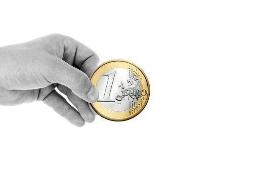 Hand, Keep, Finger, Euro, Coin, Money
