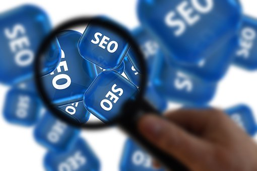 Seo, Magnifying Glass, Search