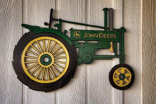 Tractor, Artisanry, John Deere Tractor