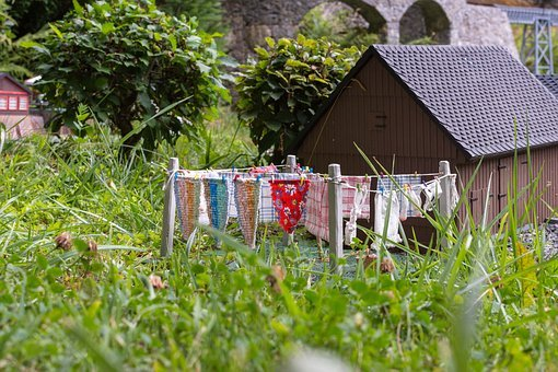 Laundry, Dry, Clothing, Clothes Line
